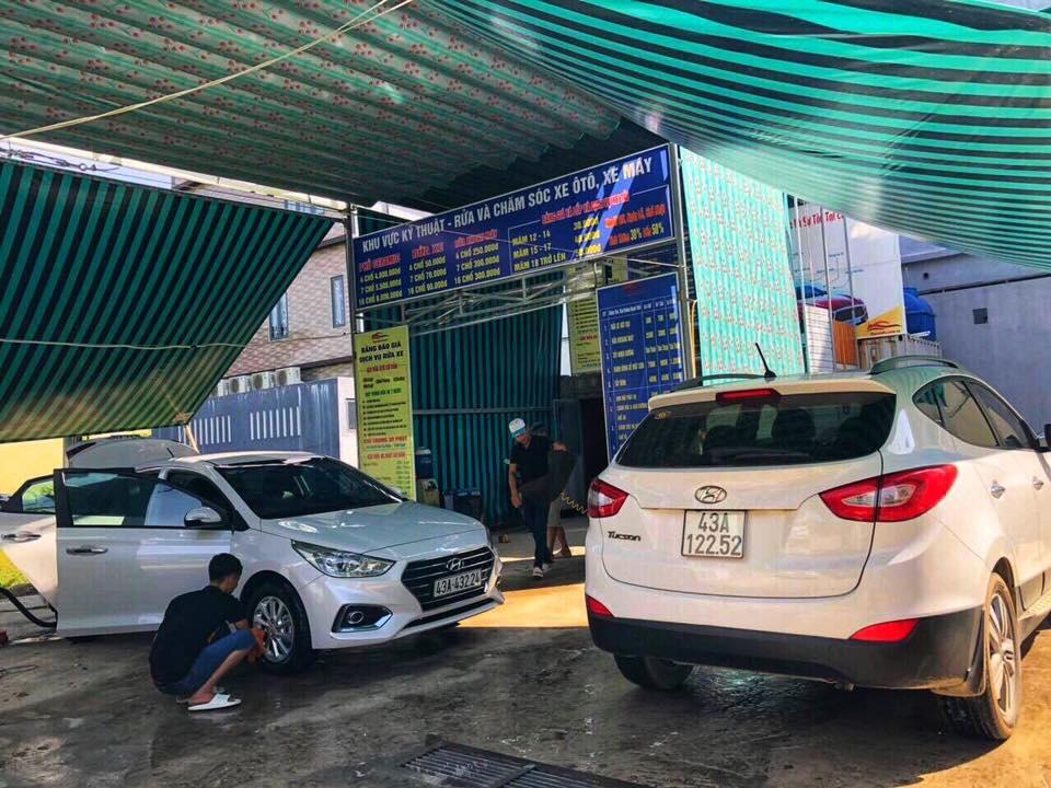 Chăm sóc xe hơi ô tô chuyên nghiệp Đà Nẵng